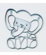 Baby Elephant Detailed Calf Gentle Giant Animal Zoo Cookie Cutter USA PR... - $2.99