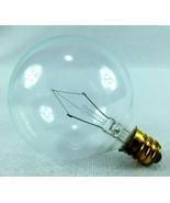 Vtg Westinghouse Candelabra Base Light Bulb 130V G-16.5  25w Case of 10 ... - $24.99