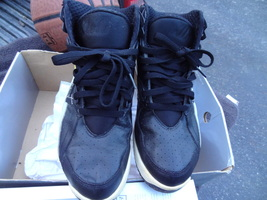 Nike 302346 Air Trainer Sc Bo Jackson Black Zest Yellow Grey 2007 Size 10.5 - $64.99