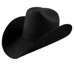 Men's Cowboy Hat El General Texana 20X Horma Durangense Color Black Wool - €59,94 EUR