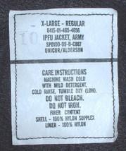 US Army athletic uniform (IPFU) jacket size X-Large Regular, Unicor 2001 - $30.00