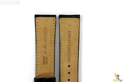 Citizen BM8240-03E Eco-Drive 20mm Black Leather Watch Band StrapBM8240-11A