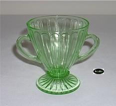 Ribon Green Sugar Hazel Atlas - $8.95