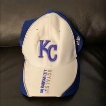 New era blue Kansas City royals adjustable hat - £20.57 GBP