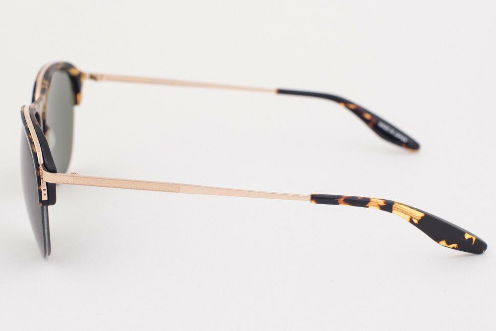 Barton Perreira HEIST Gold Tortoise / Green Sunglasses HEC GOL BTG