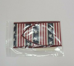Longaberger All American Handle Tie New In Bag 2438470 Fabric Red White ... - $9.85
