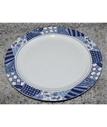 Majesticware Patch of Blue Salad Plate New - $23.99