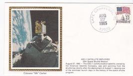 ASC-1 SATELLITE DEPLOYED CAPE CANAVERAL FLORIDA AUG 27 1985 COLORANO SILK  - $2.98