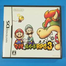 Mario & Luigi RPG 3 Bowser's Inside Story (Nintendo DS, 2009) Japan - $11.20