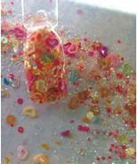glitter mix acrylic gel nail art CANDY VALENTINE - $8.00