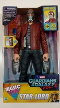 """Marvel Guardians Of The Galaxy Vol 2 Music Mix 12"""" Star-lord Movie Voice NEW - $21.00"""