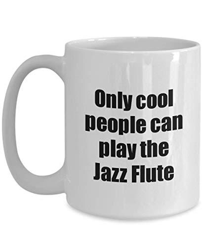 Primary image for Jazz Flute Player Mug Musician Funny Gift Idea Gag Coffee Tea Cup 15 oz