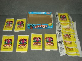 Grease 1978 Topps Trading Card Display Wax Box w/ 17 Wrappers [Empty] - $16.00