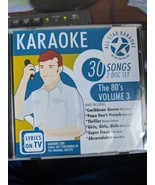 All Star Karaoke The 80's Volume 3 - $7.92