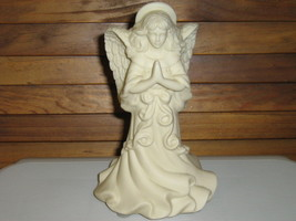 "PartyLite ""Angel of Light"" Bisque Candle Holder - $10.00"