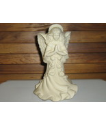 "PartyLite ""Angel of Light"" Bisque Candle Holder - €8,55 EUR"