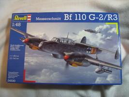 Revell Model. Unopened. Messerschmitt  Bf 110 G-2/R3. 1:48. Skill 4.  - $49.50