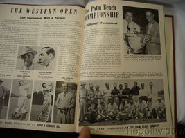 1951 Ryder Cup Pinehurst Program and Book of Golf by the PGA of America HC image 11