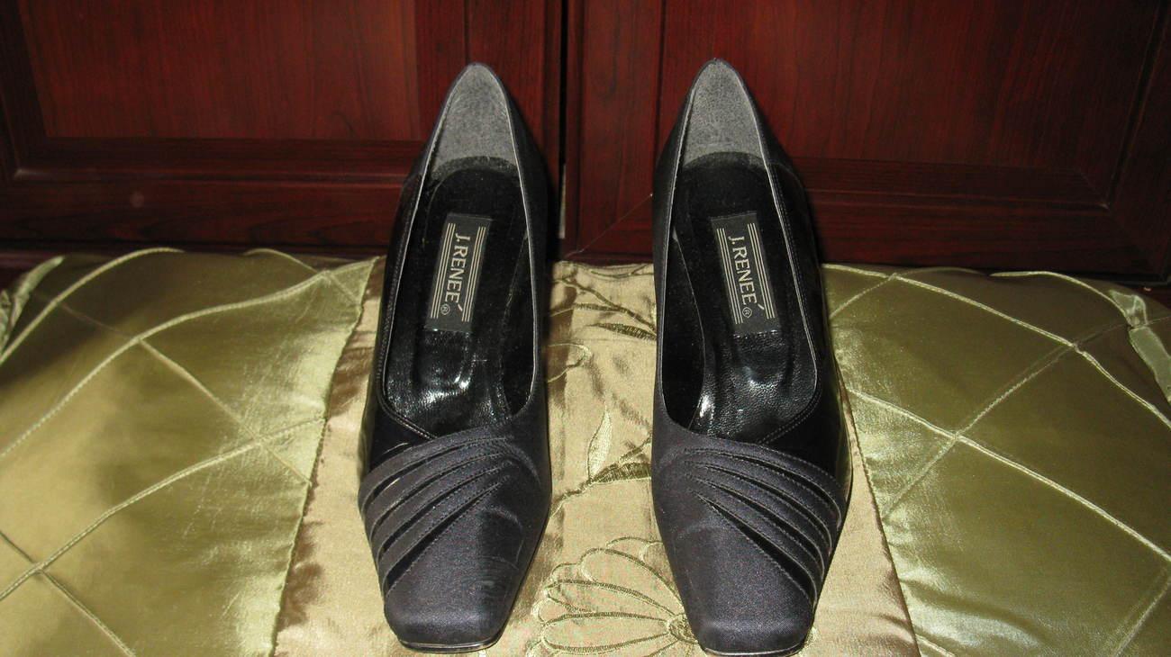 Women Pumps High Heels J. Renee Navy Blue 7.5 Medium J. Renee