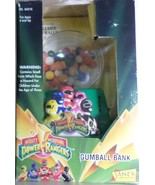 Mighty Morphin Power Rangers Gumball Coin Bank 1994 Janex Corp money H34 - $24.77