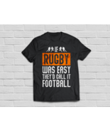 Rugby Gift If Rugby Was Easy, They'd Call It Football - €16,72 EUR