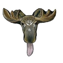 Moose Pendulum Wall Clock - $56.42