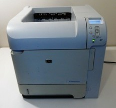 HP P4014dn Workgroup Laser Printer with DUPLEX UNIT, 535k page count - $103.95