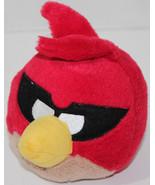 Commonwealth ROVIO ANGRY BIRDS RED BANDIT BIRD Stuffed Plush Animal SOFT... - $14.84