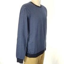 Polo Ralph Lauren Men's Striped Blue Sweater Pima Cotton Sz L NWT $99 - $71.97