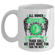 Beautiful Girls Coffee Mug, Dirt Track Girls Cup - $17.99