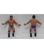 Tito Santana ORIGINAL Vintage 1986 LJN WWF Wrestling Figure B - $23.15