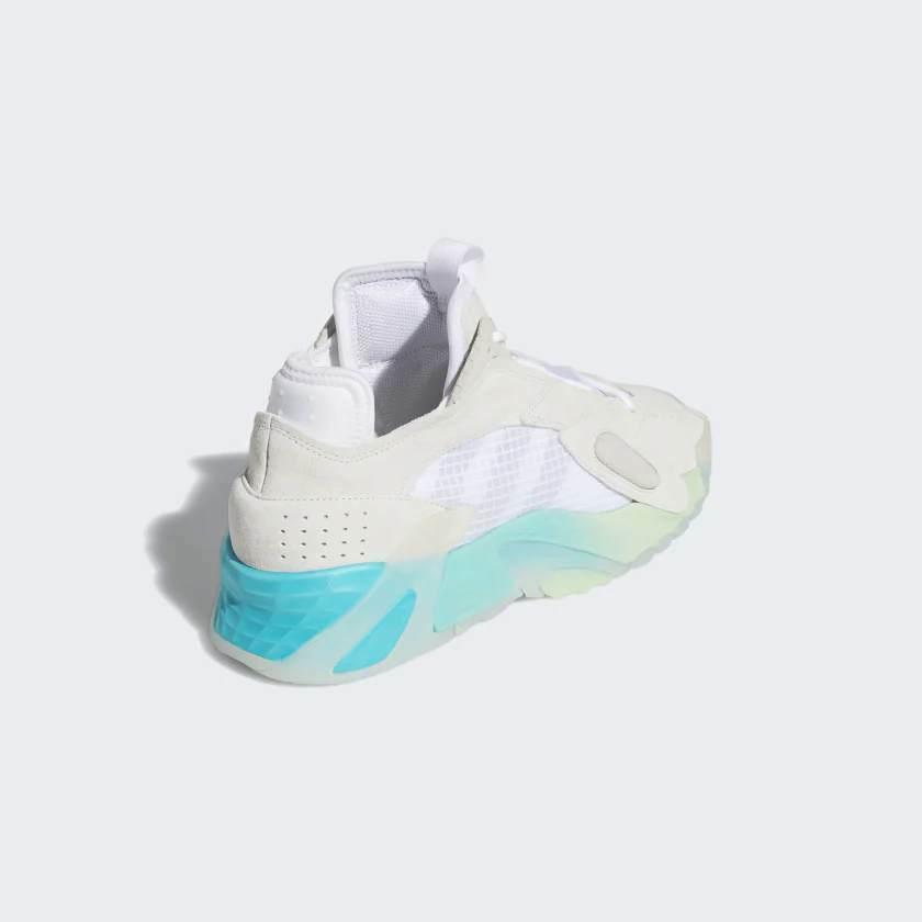 Adidas Originali Streetball Scarpe Bianco/Acquamarina Scarpe Sportive image 6
