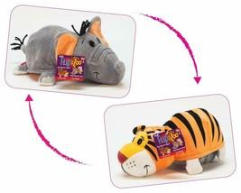 FlipaZoo Transforms 2 in 1 Stuffed Animal  Tiger & Elephant Large 20 in - $54.44