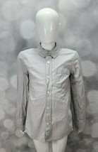 Boys Old Navy Striped Button Down Shirt size Small (6/7) - $10.00