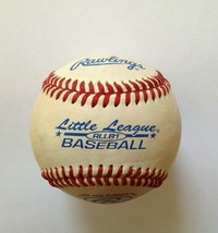 "Rawlings RLLB1 Little League  Leather Baseball Cork & Rubber Pill 5oz. 9"" - $11.87"