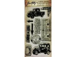 Tim Holtz Visual Artistry Collection The Journey Clear Stamp Set #CSS25900