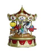 Hallmark Keepsake 2019 Year Dated Christmas Carnival Traveler Merry-Go-R... - $34.64
