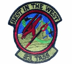 Military patch vtg army marines air force navy jacket emblem Best West 23 Tass X - $19.25