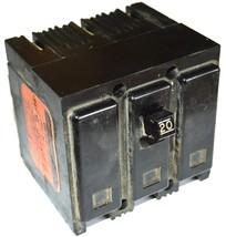 Westinghouse QNP3020 3-POLE Circuit Breaker 20 Amp 240 Vac - $44.99