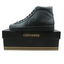 Converse PL 76 Mid Leather Top Size 11 Mens Triple Black Lunarlon 155334... - $54.40