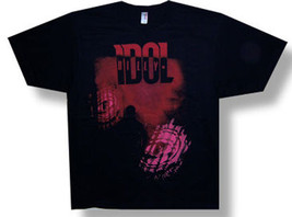 Billy Idol-Eyes Without A Face-2008 Tour-Black Lightweight T-shirt - $18.99