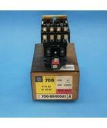 Allen Bradley 700-BR400A1 AC Relay 4 Pole 120 VAC Coil New In Box - $44.99