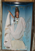 VHTF NRFB Goddess of Beauty Barbie Doll Classical Greek LTD ED 2000 image 5
