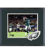 "Nick Foles ""The TD Catch"" Super Bowl LII -11x14 Eagles Logo Matted/Frame... - $42.95"