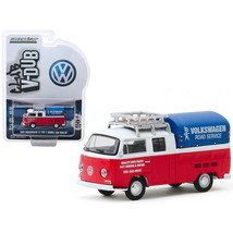 1976 Volkswagen T2 Type 2 Double Cab Pick-Up with Roof Rack and Canopy V... - $18.37