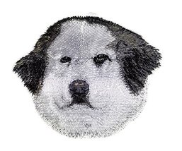 "Amazing[Great Pyrenees Dog Face] Embroidery Iron On/Sew patch [4"" x 4""][... - €6,81 EUR"