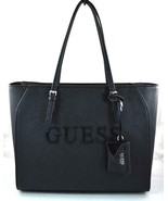 AUTHENTIC NEW NWT GUESS CHANDLER BLACK TOTE - $69.99