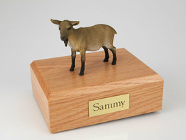 Goat Brown Figurine Wildlife Cremation Urn Available in 3 Diff. Colors &... - $169.99+