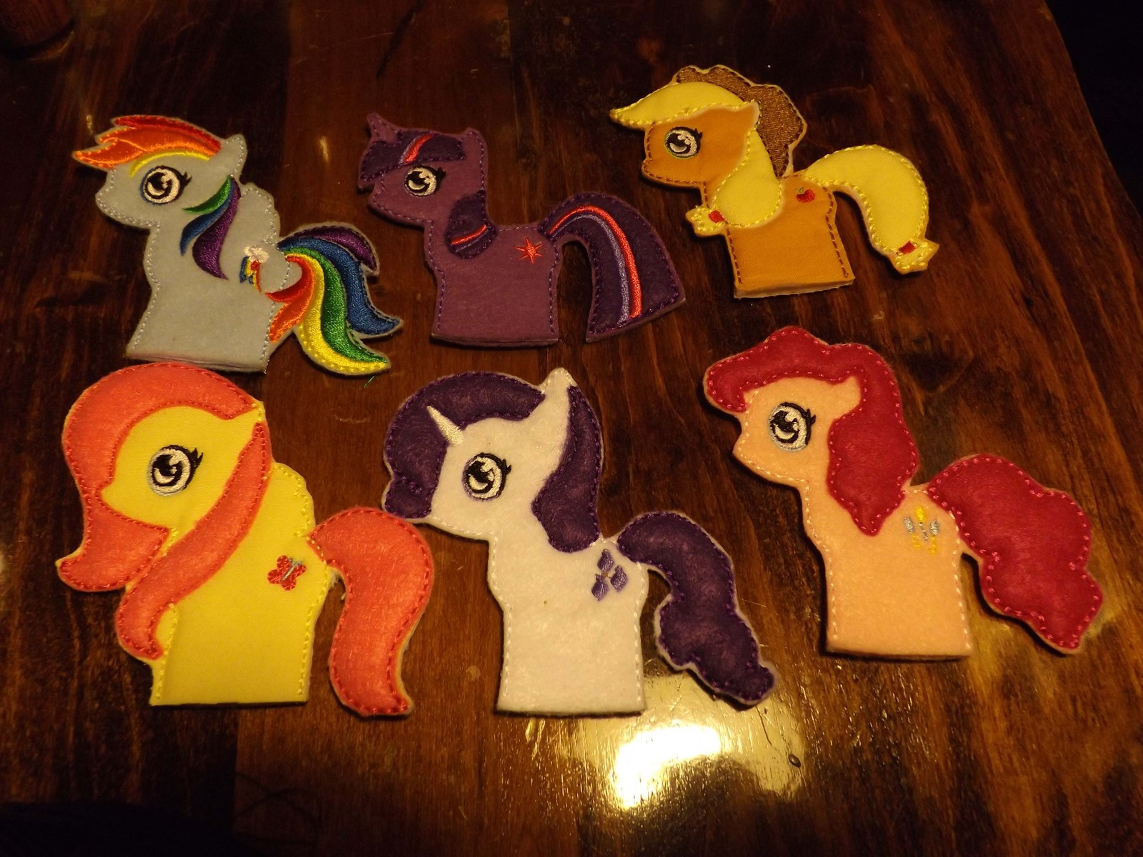 Pony/Horse finger puppets/pencil toppers IN STOCK