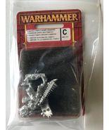 Warhammer Fantasy LIZARDMAN SAURUS TEMPLE GUARD CHAMPION C 88-35 Unpaint... - $21.99